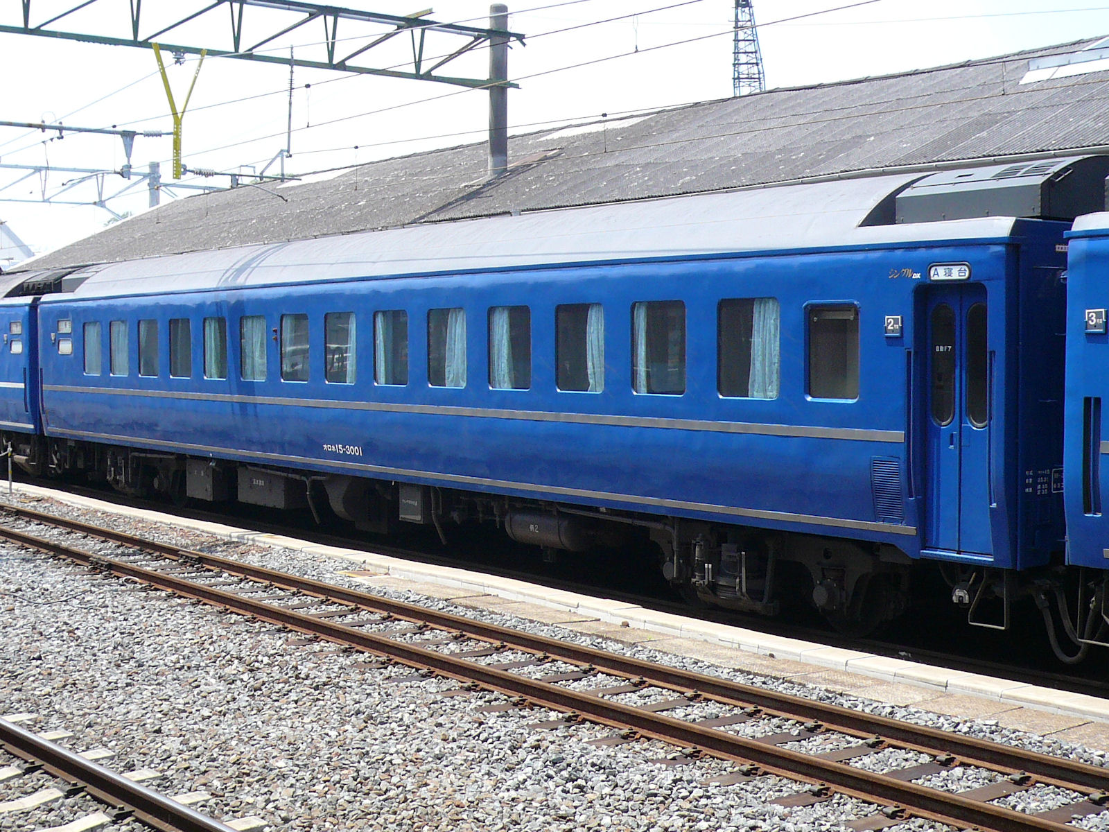 寝台特急はやぶさ・富士号シングルDX車両(JPG-519k)